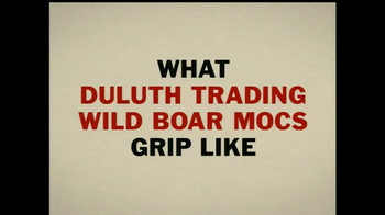 Duluth Trading Wild Boar Mocs TV Spot, 'Grippy Like a Big Bad Boar' - Thumbnail 3