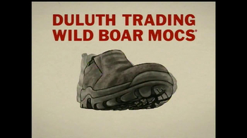 Duluth Trading Wild Boar Mocs TV Spot, 'Grippy Like a Big Bad Boar' - Thumbnail 6