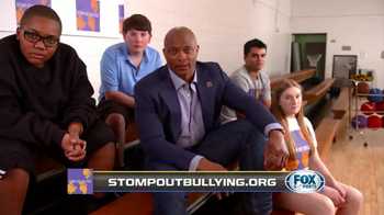 FOX Sports 1 TV Spot, 'Stomp Out Bullying' Feat. Michael Strahan - Thumbnail 6