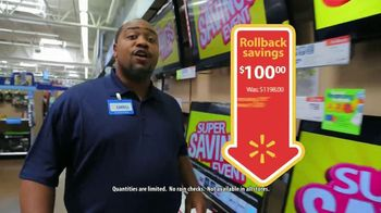 Walmart Super Savings Event TV Spot