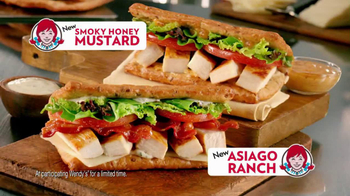 Wendy's Flatbread Grilled Chicken TV Spot, 'Amazing' - Thumbnail 10