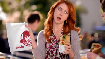 Wendy's Flatbread Grilled Chicken TV Spot, 'Amazing' - Thumbnail 4