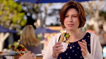 Wendy's Flatbread Grilled Chicken TV Spot, 'Amazing' - 2889 commercial airings