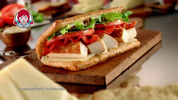 Wendy's Flatbread Grilled Chicken TV Spot, 'Amazing' - Thumbnail 7