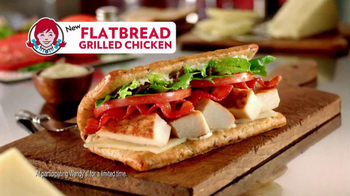 Wendy's Flatbread Grilled Chicken TV Spot, 'Amazing' - Thumbnail 8