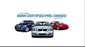 BMW Cetified Pre-Owned Sales Event TV Spot, 'Protection' - Thumbnail 10