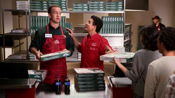 Papa John's TV Spot, 'Reporting for Duty' Featuring Peyton Manning - Thumbnail 4