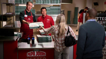Papa John's TV Spot, 'Reporting for Duty' Featuring Peyton Manning - Thumbnail 5
