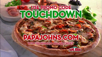 Papa John's TV Spot, 'Reporting for Duty' Featuring Peyton Manning - Thumbnail 7
