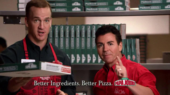 Papa John's TV Spot, 'Reporting for Duty' Featuring Peyton Manning - Thumbnail 9