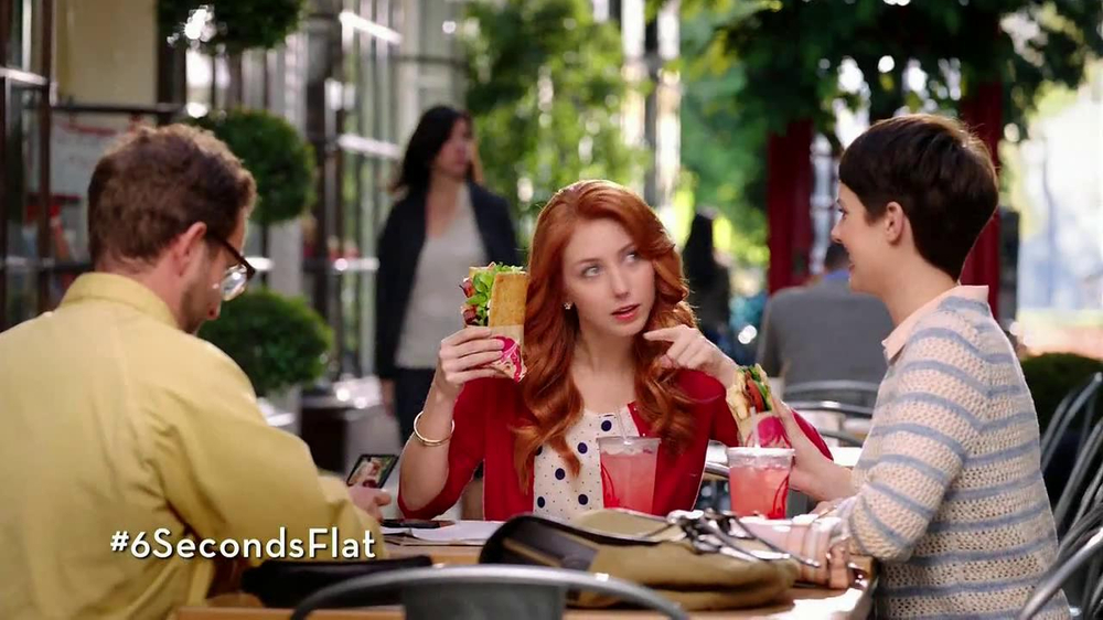 Wendy's Flatbread Grilled Chicken TV Commercial, 'Have to Tweet it'