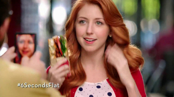 Wendy's Flatbread Grilled Chicken TV Spot, 'Have to Tweet it' - Thumbnail 4