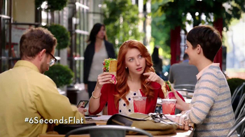 Wendy's Flatbread Grilled Chicken TV Spot, 'Have to Tweet it' - 4463 commercial airings