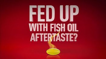 Mega Red Krill Oil TV Spot, 'Fish Aftertaste'