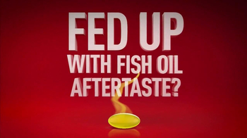 Mega Red Krill Oil TV Spot, 'Fish Aftertaste'