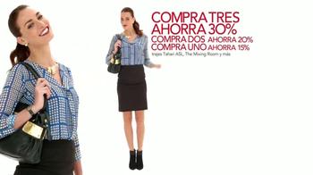 Macy's Venta de Más Opciones TV Spot [Spanish] - Thumbnail 4
