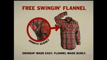 Duluth Trading Free Swingin' Flannel TV Spot, 'Lumberjack' - Thumbnail 8