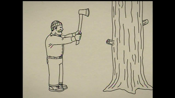 Duluth Trading Free Swingin' Flannel TV Spot, 'Lumberjack' - Thumbnail 1