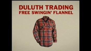 Duluth Trading Free Swingin' Flannel TV Spot, 'Lumberjack' - Thumbnail 4