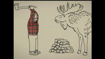 Duluth Trading Free Swingin' Flannel TV Spot, 'Lumberjack' - Thumbnail 6