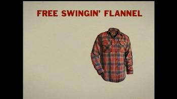Duluth Trading Free Swingin' Flannel TV Spot, 'Lumberjack' - Thumbnail 7
