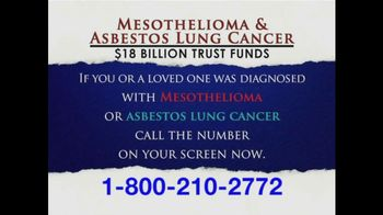 Levy Phillips and Konigsberg TV Spot, 'Mesothelioma and Asbestos'