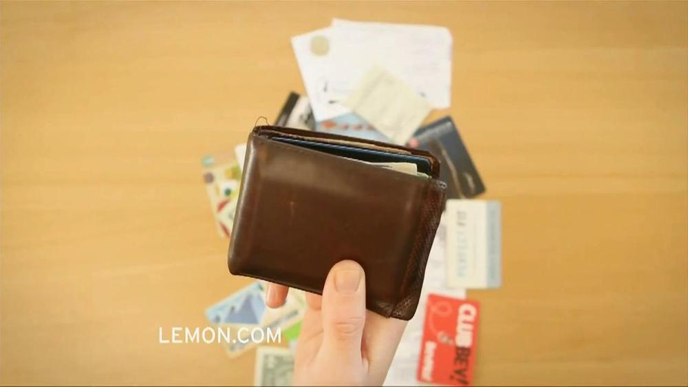 Lemon Wallet TV Spot