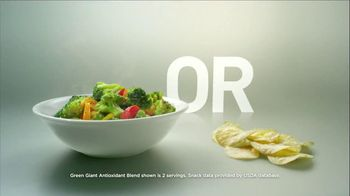Green Giant Steamers Antioxidant Blend TV Spot, 'Bigger is Better'