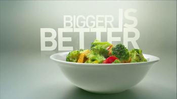 Green Giant Steamers Antioxidant Blend TV Spot, 'Bigger is Better' - Thumbnail 6