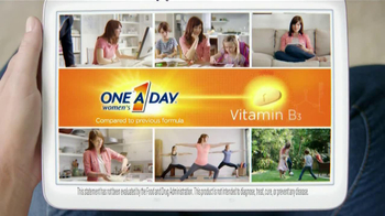 One A Day Women's TV Spot, 'Reformulated' - Thumbnail 4