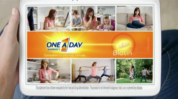 One A Day Women's TV Spot, 'Reformulated' - Thumbnail 5