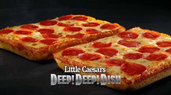 Little Caesars Deep, Deep Dish Pizza TV Spot, 'Hair Stand On End' - Thumbnail 9