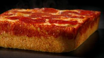 Little Caesars Deep, Deep Dish Pizza TV Spot, 'Hair Stand On End' - Thumbnail 2