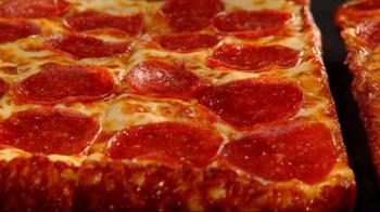 Little Caesars Deep, Deep Dish Pizza TV Spot, 'Hair Stand On End' - Thumbnail 5