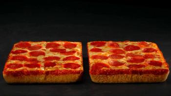 Little Caesars Deep, Deep Dish Pizza TV Spot, 'Hair Stand On End' - Thumbnail 8