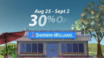 Sherwin-Williams Endless Summer Sale TV Spot, 'August 2013' - Thumbnail 5