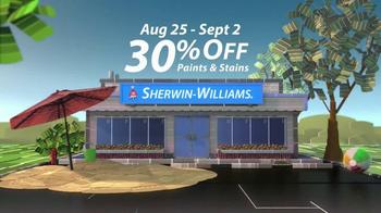 Sherwin-Williams Endless Summer Sale TV Spot, 'August 2013' - Thumbnail 6