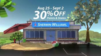 Sherwin-Williams Endless Summer Sale TV Spot, 'August 2013' - Thumbnail 7