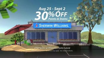 Sherwin-Williams Endless Summer Sale TV Spot, 'August 2013' - Thumbnail 8