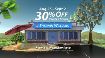 Sherwin-Williams Endless Summer Sale TV Spot, 'August 2013' - Thumbnail 9
