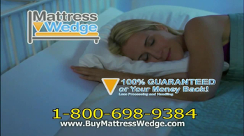 Mattress Wedge TV Spot - Thumbnail 10