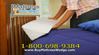 Mattress Wedge TV Spot - Thumbnail 9