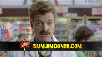 Slim Jim TV Spot, 'Donor'