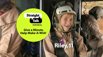 Straight Talk Wireless Give A Minute Help Make A Wish Event TV Spot - Thumbnail 4