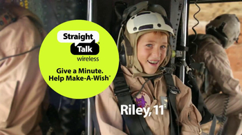 Straight Talk Wireless Give A Minute Help Make A Wish Event TV Spot - Thumbnail 5