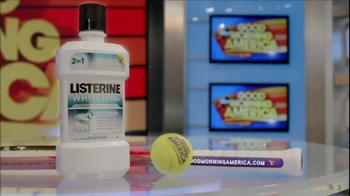 Listerine TV Spot, 'GMA' Featuring Sloan Stevens - Thumbnail 10