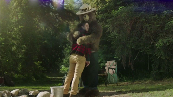 Smokey Bear Campaign TV Spot, 'Bear Hug' - Thumbnail 6