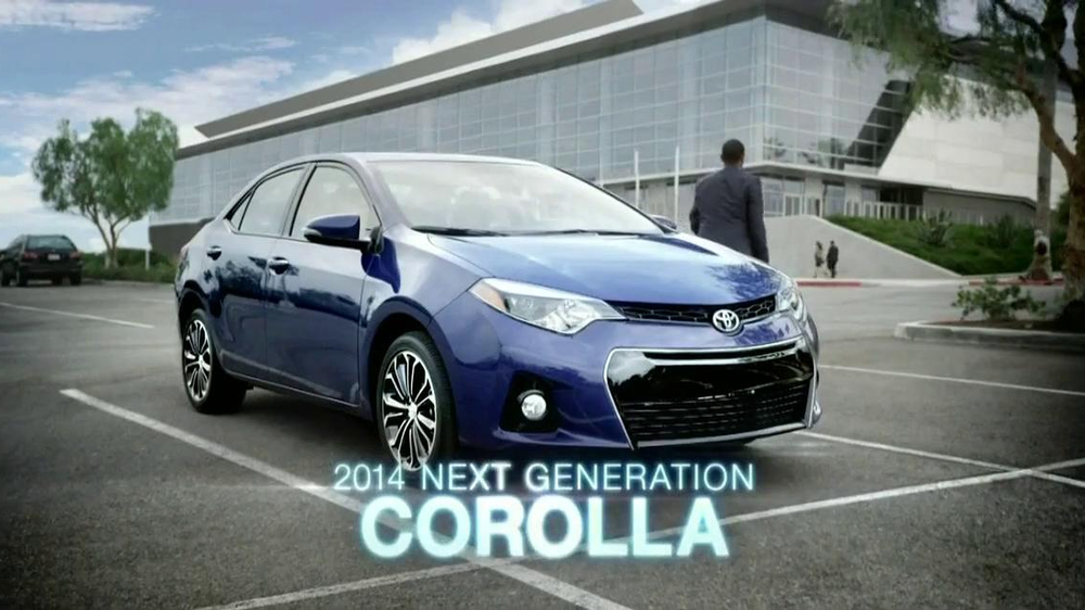 Camry Queen Commercial >> 2014 Toyota Corolla TV Commercial, 'Change the Game' - iSpot.tv