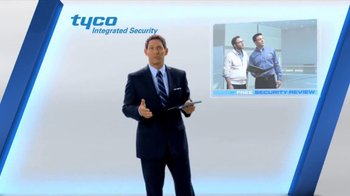 Tyco Integrated Security TV Spot, 'Talk Security' Featuring Steve Young - 104 commercial airings