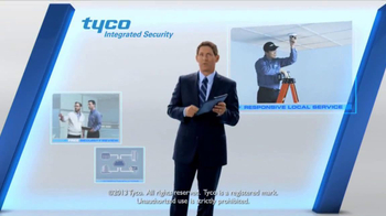 Tyco Integrated Security TV Spot, 'Talk Security' Featuring Steve Young - Thumbnail 7